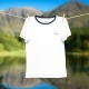 White T-shirt for men made with soft organic cotton