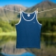 Bluebuck navy blue vest for men