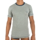 grey T-shirt made in Europe for men